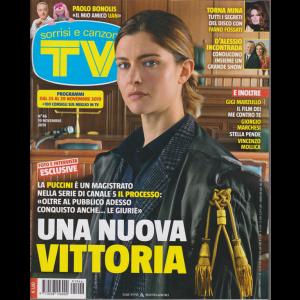 Sorrisi e Canzoni Tv - n. 46 - 19 novembre 2019 - settimanale