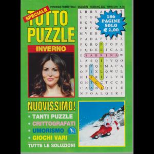 Speciale Tutto Puzzle - n. 93 - trimestrale - dicembre - febbraio 2020 - 196 pagine - inverno
