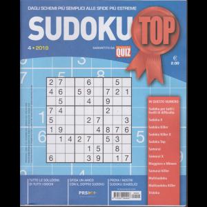 Sudoku Top - n. 4 - trimestrale - novembre 2019