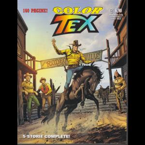 Tex Color - n. 16 - Teton passe altre storie - novembre 2019 - semestrale - 160 pagine!
