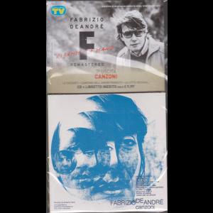 Le raccolte musicali di Sorrisi n. 18 - 19 novembre 2019 - settima uscita - Canzoni - Fabrizio De Andrè - cd + libretto inedito