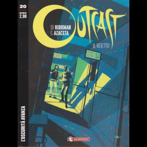 Outcast - Il Reietto - L'oscurità avanza - n. 20 - bimestrale - 13/11/2019 -