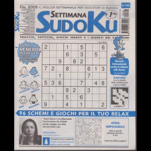 Settimana Sudoku - n. 745 - settimanale - 22 novembre 2019 -