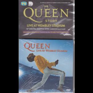 Gli speciali musicali di Sorrisi n. 35 - 19 novembre 2019 - The Queen story - Live at wembley stadium - n. 12 - doppio dvd + libretto