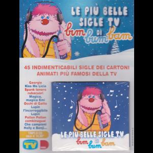 Cd Sorrisi Canzoni -  n. 1 -19/11/2019 - Le più belle sigle tv di Bim bum bam -