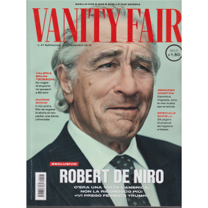 Vanity Fair  - n. 47 - settimanale - 27 novembre 2019 -