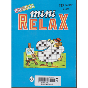 Raccolta mini relax - n. 473 - bimestrale - 21/2/2018 - 212 pagine