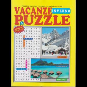 Vacanze Puzzle inverno- n. 463 - dicembre - febbraio 2020 - 68 pagine
