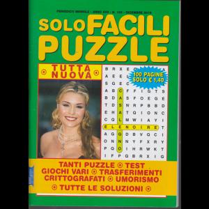 Solo Facili Puzzle - n. 193 - mensile - dicembre 2019 - 100 pagine