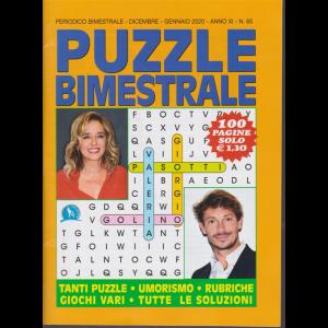 Puzzle Bimestrale - n. 65 - bimestrale - dicembre - gennaio 2020 - 100 pagine