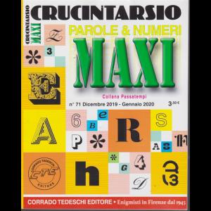 Maxi Crucintarsio - n. 71 - trimestrale - dicembre 2019 - gennaio 2020