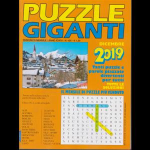 Puzzle Giganti - dicembre 2019 - mensile- n. 428