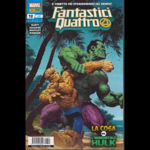 Fantastici Quattro - n- 397 - mensile - 21 novembre 2019 - La cosa vs. L'immortale Hulk