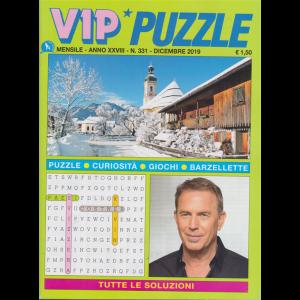 Vip Puzzle - n. 331 - mensile - dicembre 2019 -