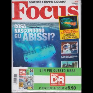 Focus + Focus  D&R Domande e risposte - n. 326 - 21 novembre 2019 - dicembre 2019 - 2 riviste - mensile