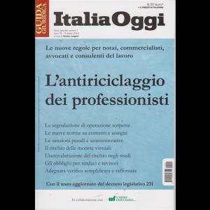 Guida giuridica Italia Oggi - L'antiriciclaggio dei professionisti - n. 7 - 9 marzo 2019 -