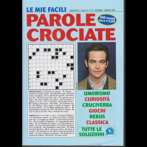 Le Mie Facili Parole crociate - n. 70 - bimestrale - dicembre - gennaio 2019 - 100 pagine