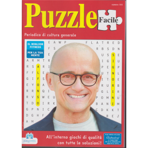 Puzzle Facile - n. 151 - bimestrale - 18/11/2019 -