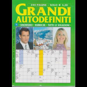 Grandi Autodefiniti - n. 54 - trimestrale- dicembre - febbraio 2020 - 244 pagine