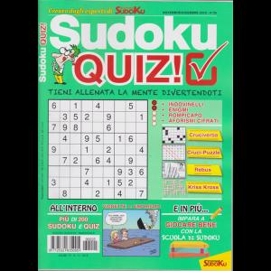 Sudoku Quiz - n. 25 - novembre - dicembre 2019 - bimestrale - 15/11/2019
