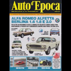 Auto D'epoca - n. 11/12 - novembre - dicembre 2019 - mensile