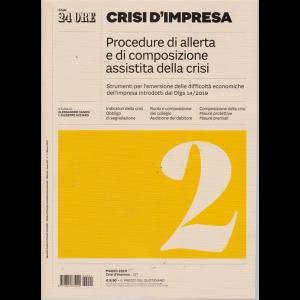 Il Sole 24 Ore. Crisi d'impresa - n. 1 - marzo 2019 - mensile