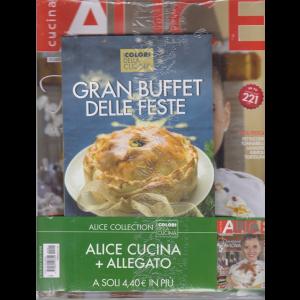 Alice Cucina Gadget - n. 1 - mensile - dicembre 2019 - + i colori della cucina - Gran buffet delle feste