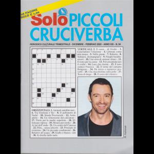 Solo Piccoli Cruciverba - n. 94 - trimestrale - dicembre - febbraio 2020 - 68 pagine