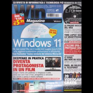 Win Magazine +  Dvd 8Gb - n. 263 - mensile - dicembre 2019 -