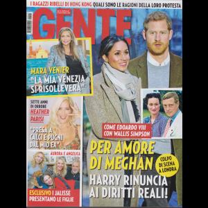 Gente - n. 47 - 30/11/2019 - settimanale
