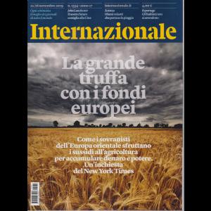 Internazionale - n. 1334 - 22/28 novembre 2019 - settimanale