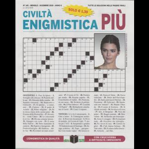 Civilta' Enigmistica più -n. 145 - mensile - dicembre 2019 -