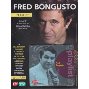 Cd Sorrisi Speciale - Fred Bongusto - Playlist - n. 18 - settimanale - 22/11/2019 -
