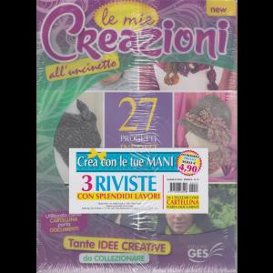 Album di Casa - Cartelletta - Le mie creazioni all'uncinetto - n. 79 - mensile - 3 riviste