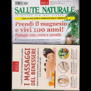Salute Naturale + Il libro I massaggi del benessere - n. 248 - mensile - dicembre 2019 - rivista + libro