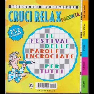 Raccolta cruci relax - n. 56 - trimestrale - dicembre 2019 - febbraio 2020 - 252 pagine - 300 cruciverba
