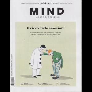 Le Scienze - Mind - Mente & Cervello - Il circo delle emozioni - n. 180 - dicembre 2019 - mensile