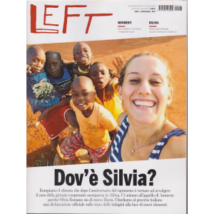 Left Avvenimenti - n. 48 - 29 novembre 2019 - 5 dicembre 2019 - settimanale