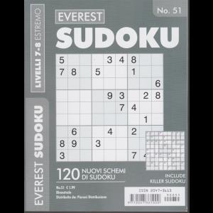 Everest Sudoku - n. 51 - bimestrale - livelli 7-8