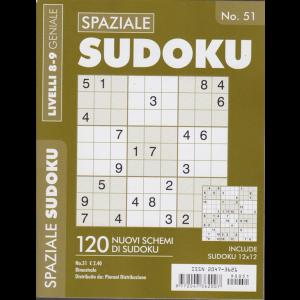 Spaziale Sudoku - n. 51 - bimestrale - livelli 8-9 geniale