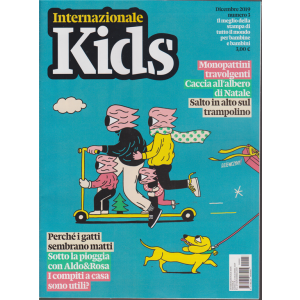 Internazionale Kids - n. 3 - dicembre 2019 - mensile