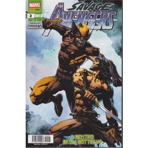 Avengers Senza Ritorno - Savage Avengers N. 2 - mensile - 28 novembre 2019 - Il mostro nella bottiglia!