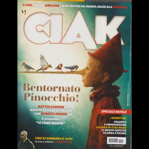 Ciak Si Gira - n. 12 - dicembre 2019 - mensile