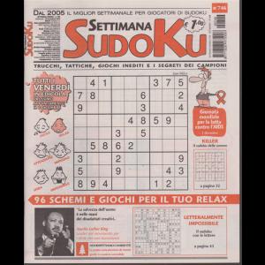 Settimana Sudoku - n. 746 - 29 novembre 2019 - settimanale