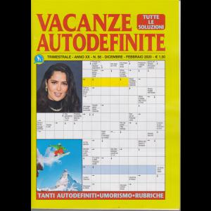 Vacanze Autodefinite - n. 58 - trimestrale - dicembre - febbraio 2020 -
