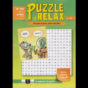 I Puzzle di Relax - n. 306 - mensile - dicembre 2019 -