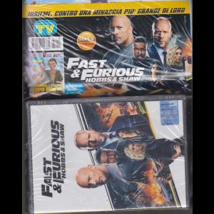 Sorrisi e canzoni tv + dvd Fast & Furious hobbs & shaw - rivista + dvd