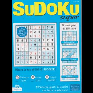 Sudoku Super - n. 90 - bimestrale - 13/3/2019 -
