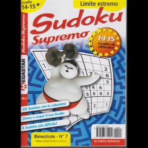 Sudoku Supremo - Liv.14-15 - n. 7 - bimestrale - 21/12/2019 - Limite estremo