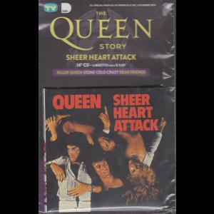Gli speciali musicali di Sorrisi n. 37 - 3 dicembre 2019 - The Queen story - Sheer heart attack - 14° cd + libretto